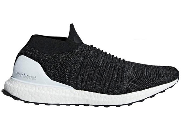 b265a91d74a42 adidas Ultra Boost Laceless Core Black Cloud White