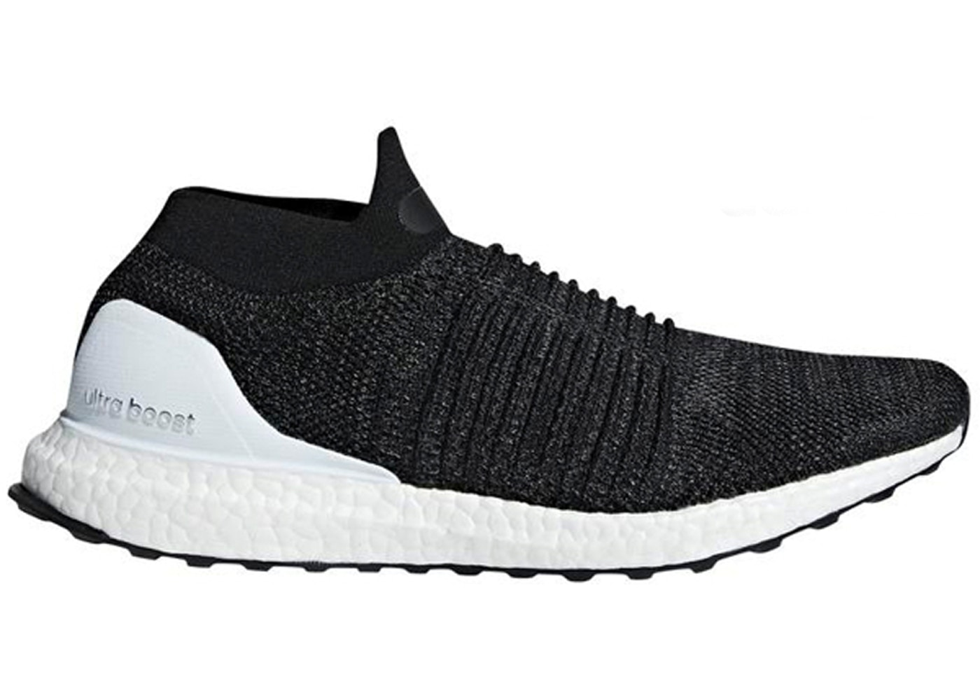 the latest 65572 1cd7c adidas Ultra Boost Laceless Core Black Cloud White
