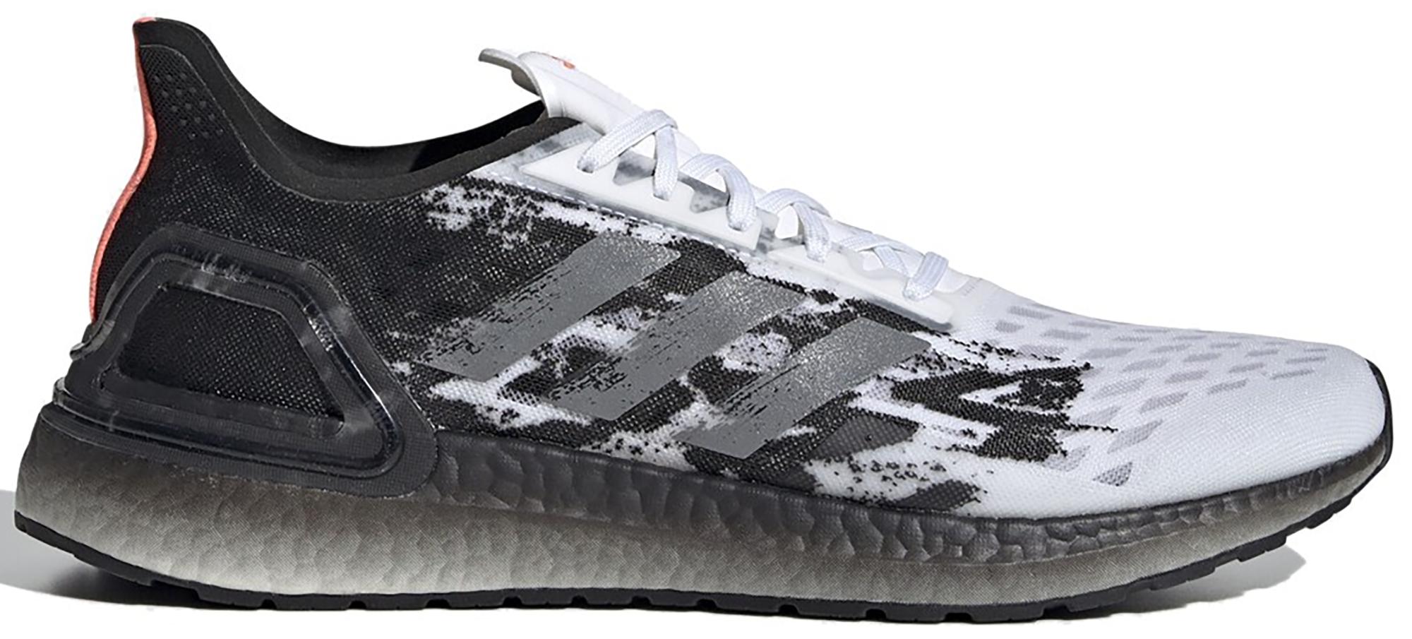 black white adidas ultra boost