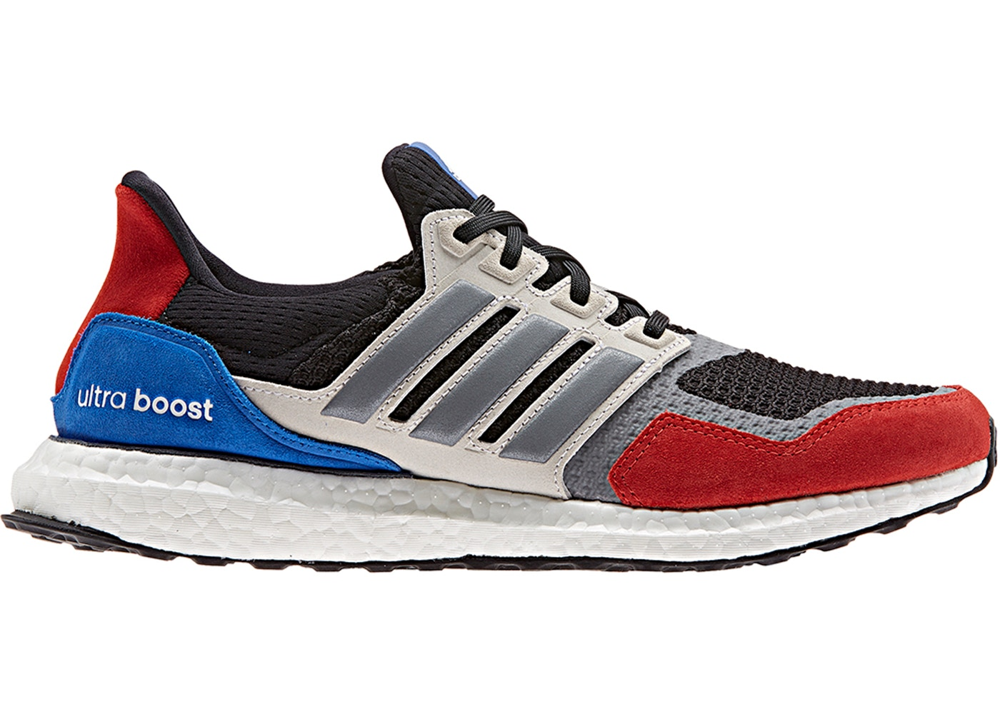 adidas Ultra Boost SL Black Red Blue