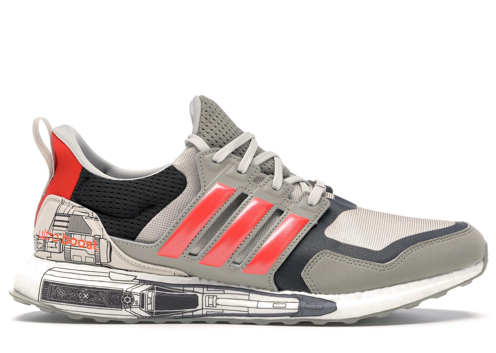 Adidas Ultraboost X Star Wars Sneaker in Grau