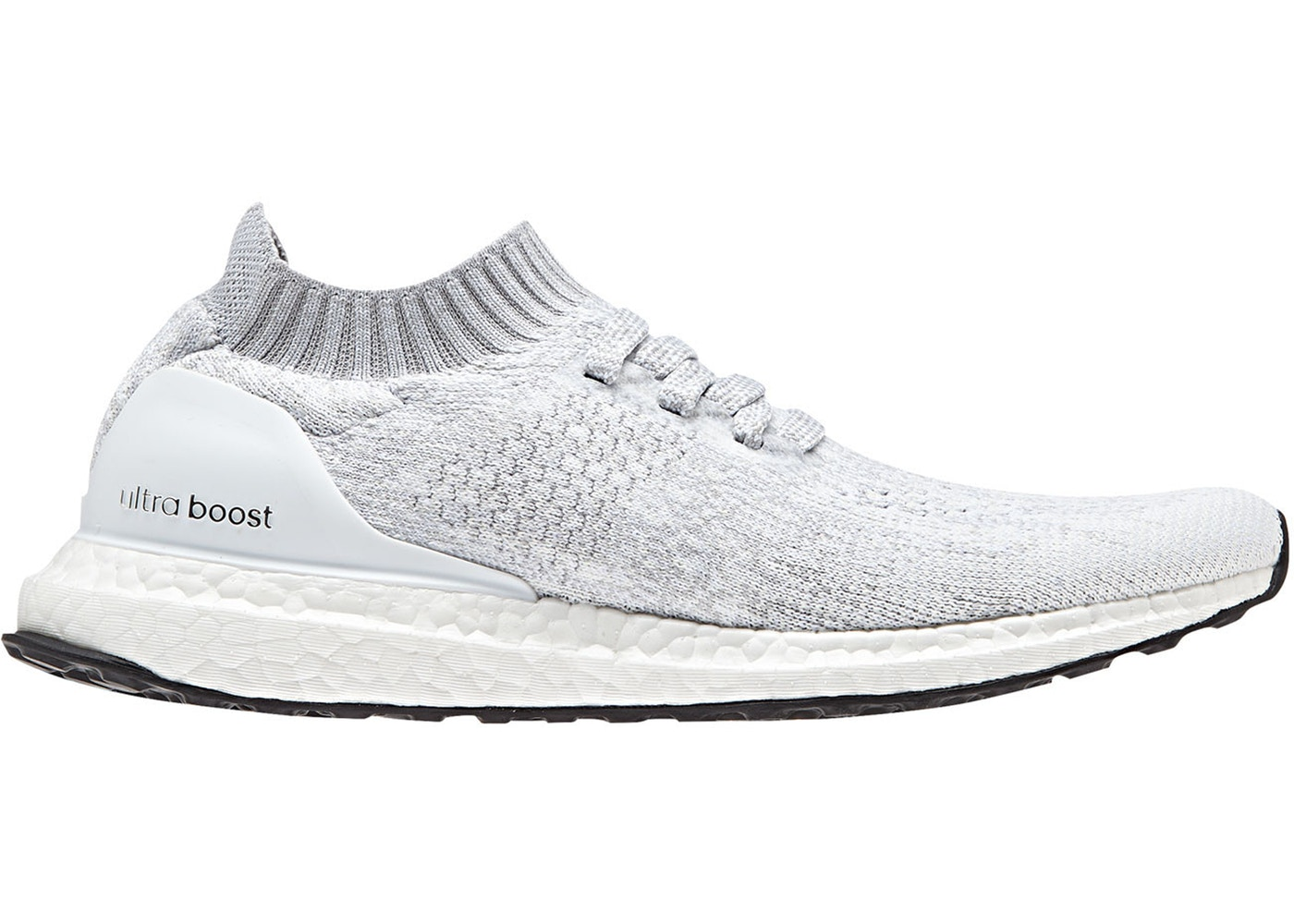 best authentic hot sales stable quality adidas Ultra Boost Uncaged White Grey (W)