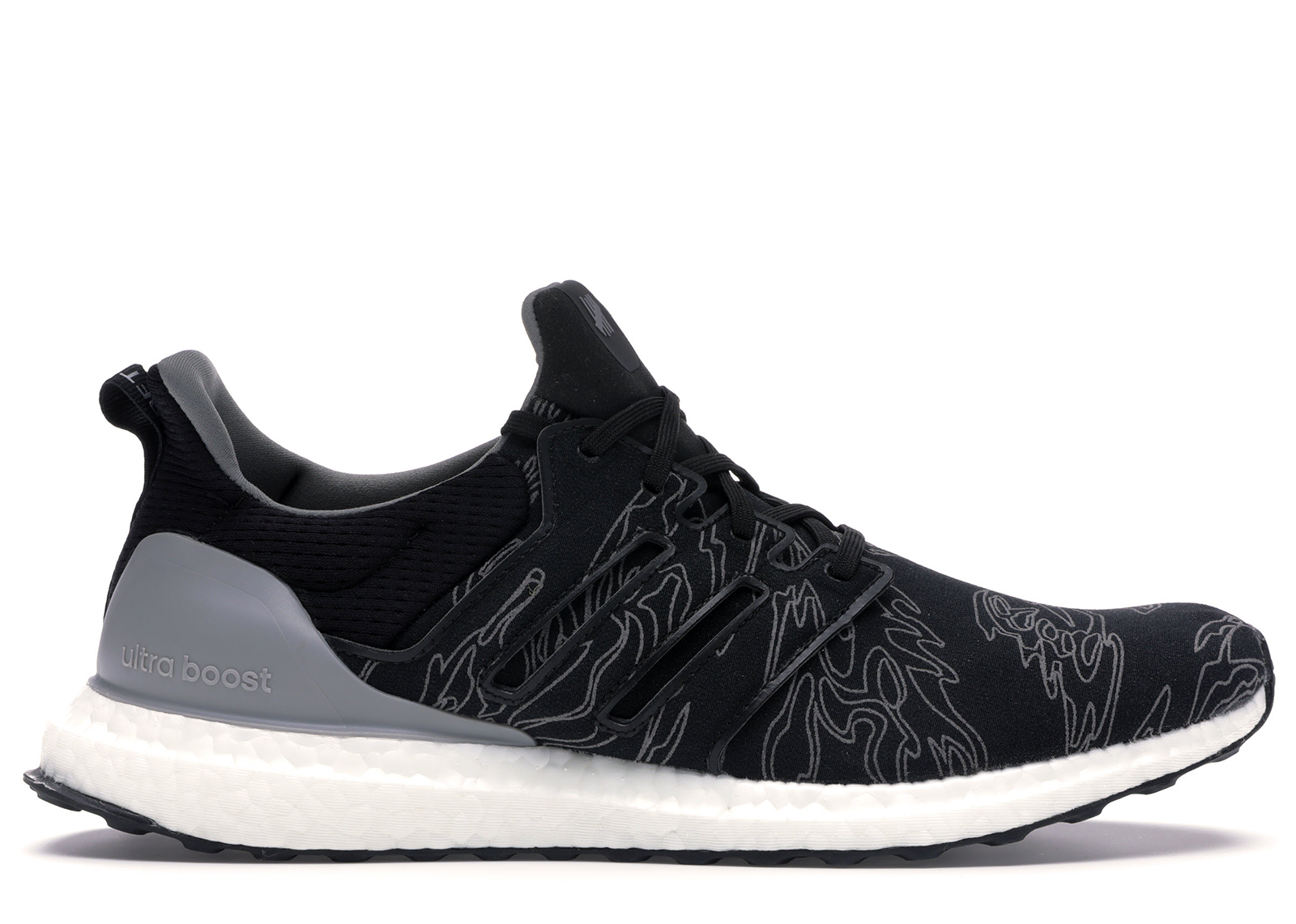 adidas Ultra Boost Undefeated Performance Running Black