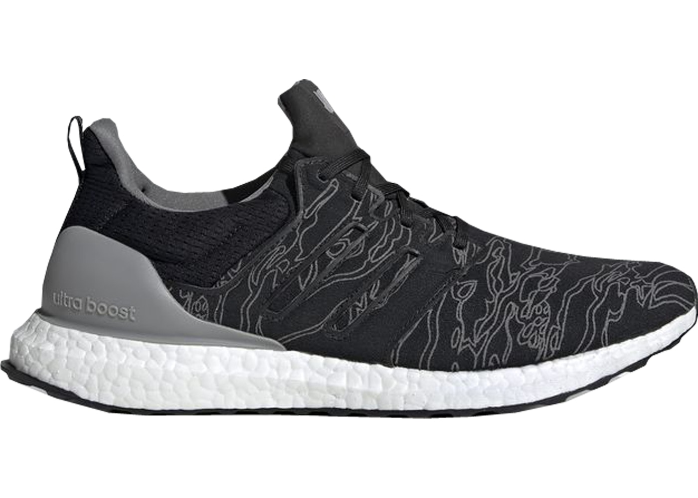 c574e5f0ff770 adidas Ultra Boost Undefeated Performance Running Black - BC0472