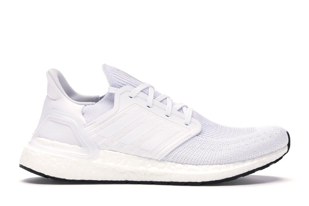 adidas Ultraboost 20 Triple White - EF1042