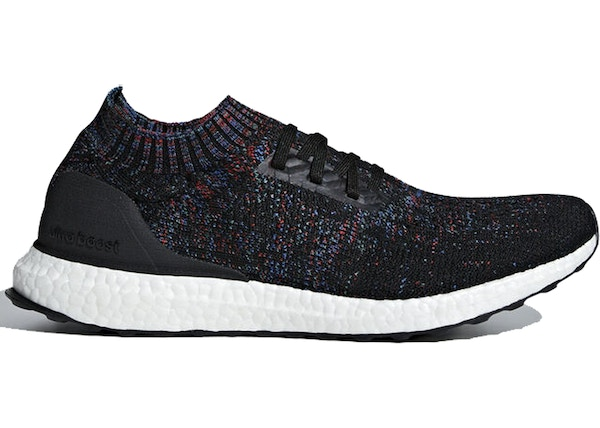 reliable quality amazing price high quality adidas Ultraboost Uncaged Core Black Active Red Blue