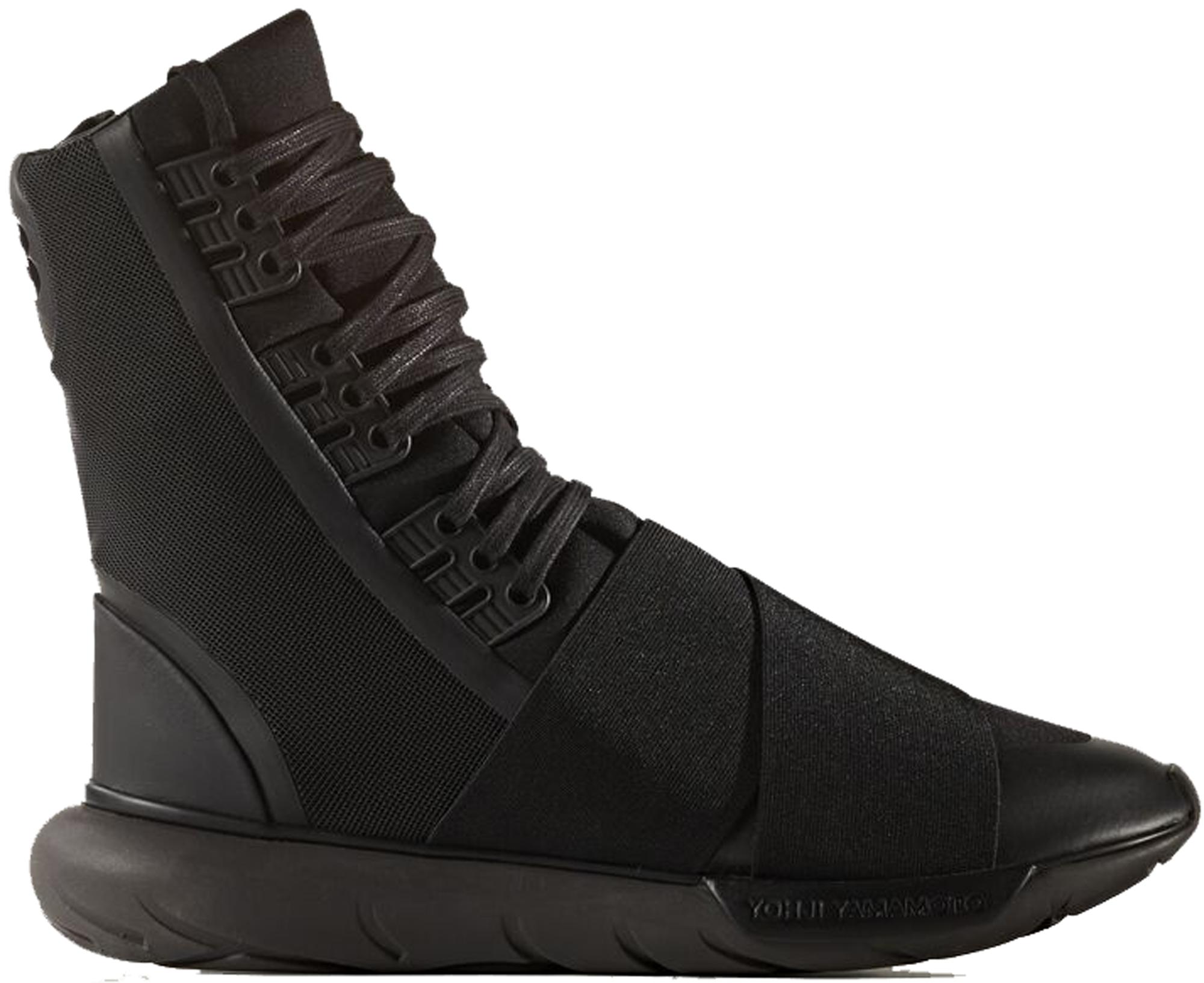 adidas Y-3 Qasa Boot Triple Black - BY2629