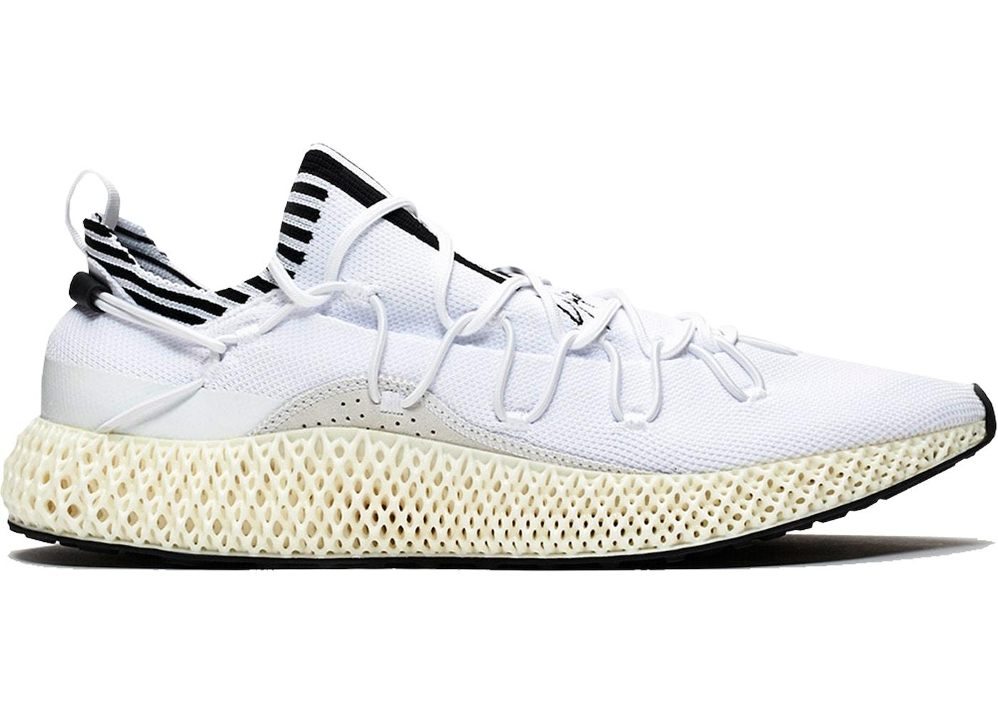 wholesale dealer 7bd33 f1527 adidas Y-3 Runner 4D II White Black - EF0902