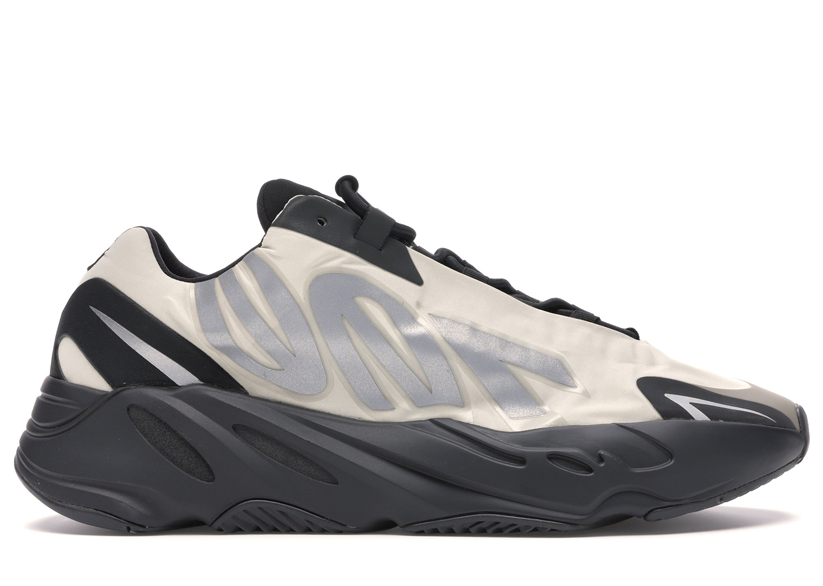 black and white yeezy 700