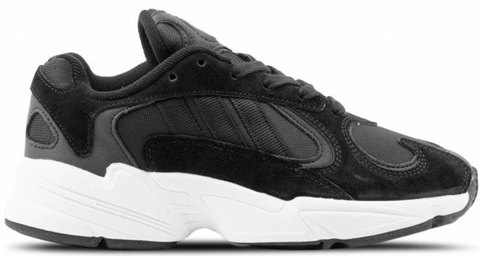 adidas Yung-1 Black White