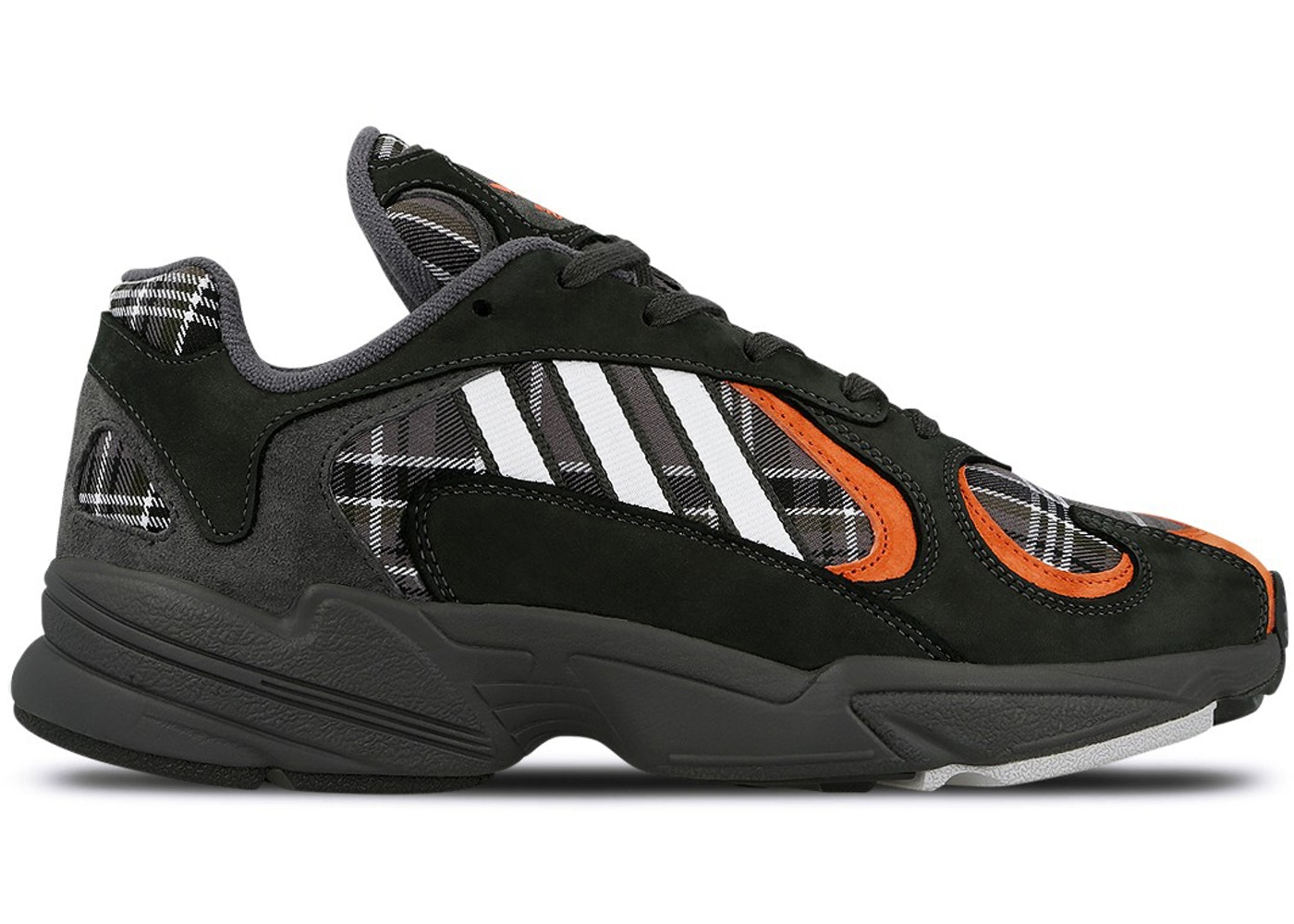 51895baafb0177 adidas Yung-1 Orange Plaid - EF3967