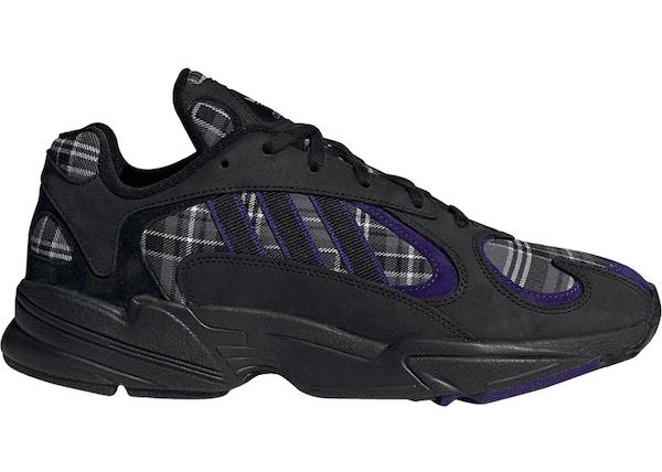 adidas Yung-1 Purple Plaid - EF3965 0844dcb0a