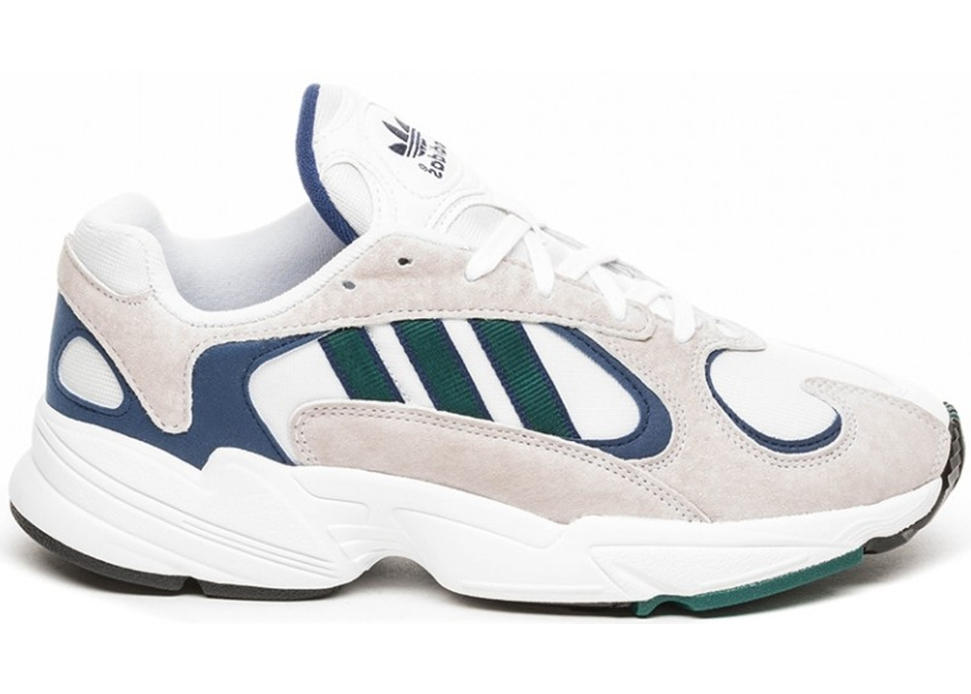 Sell. or Ask. Size 5. View All Bids. adidas Yung-1 White Noble Green Dark  Blue 6b0a1fff3