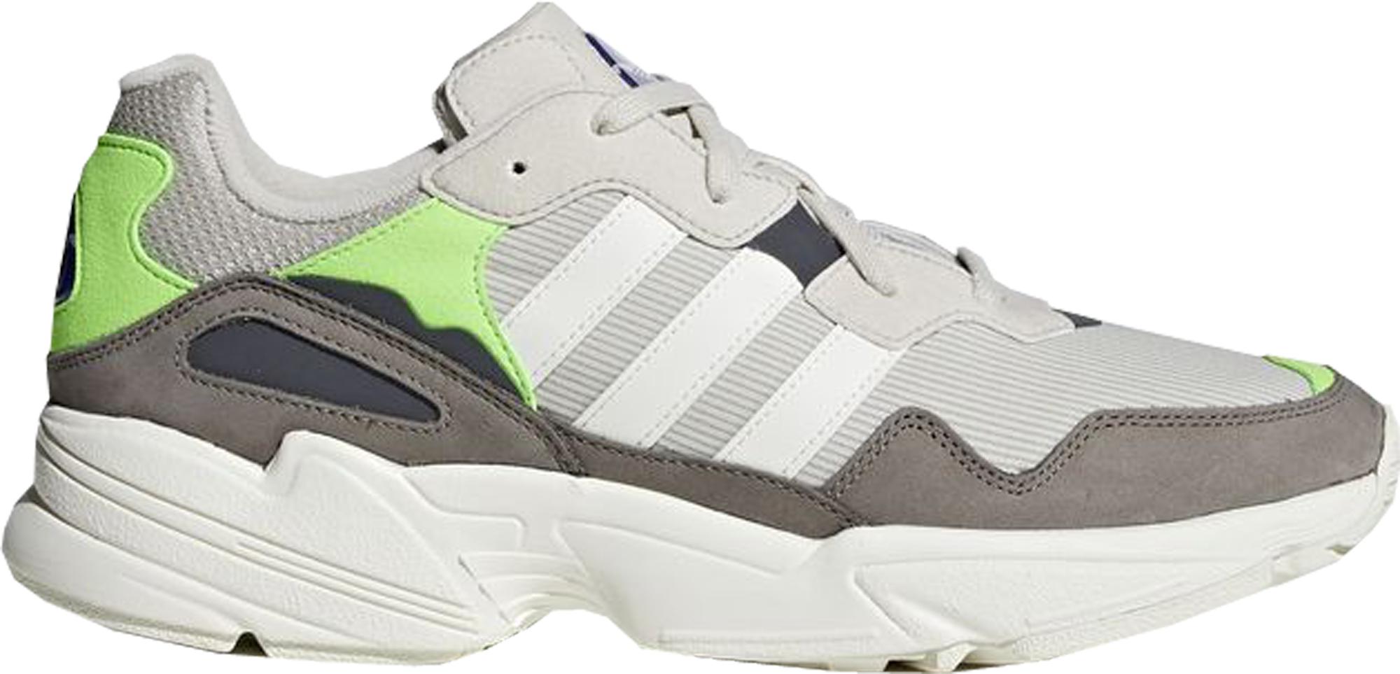 adidas Yung-96 Off White Solar Green