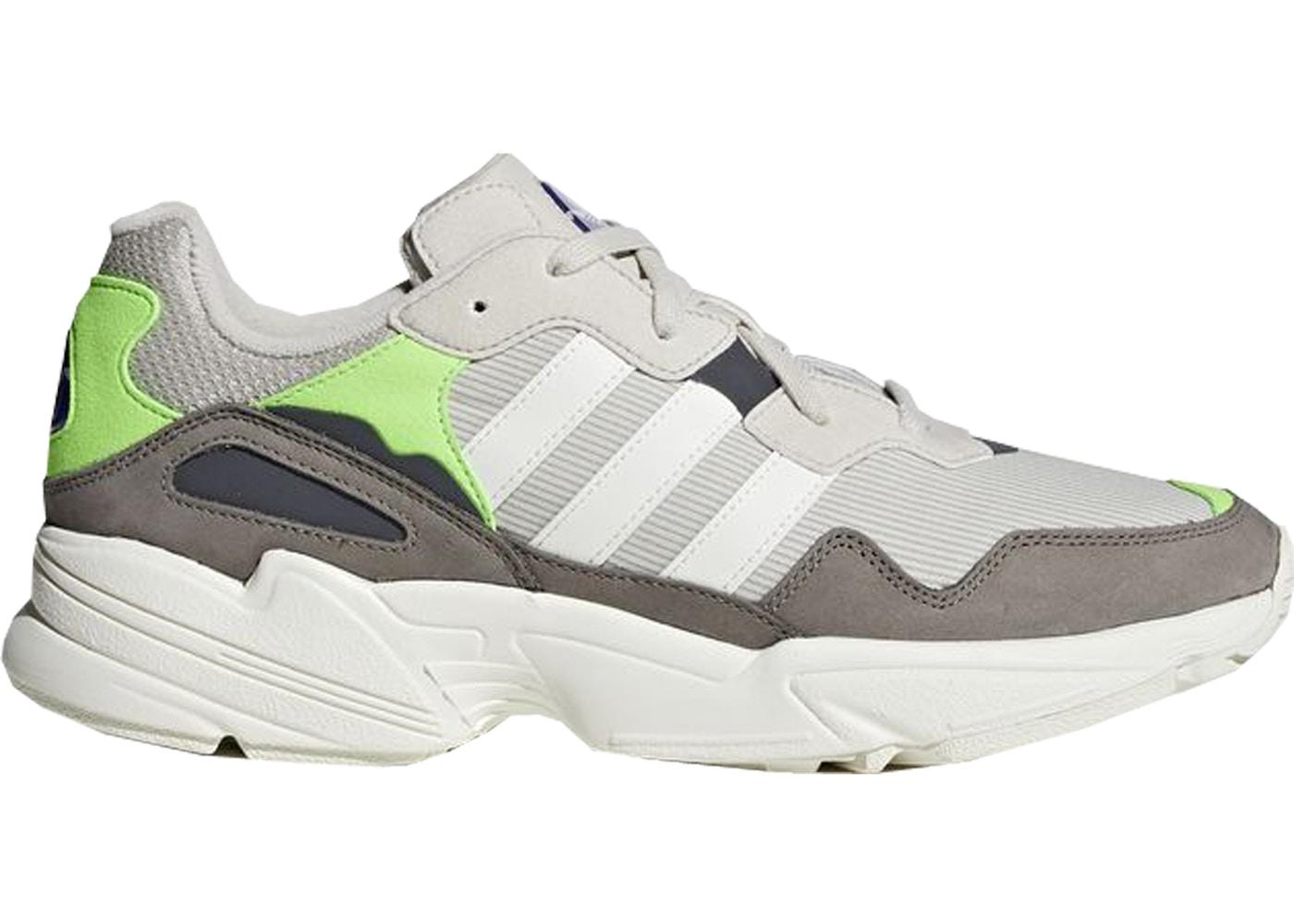 ff91125ba6a8 adidas Yung-96 Off White Solar Green - F97182