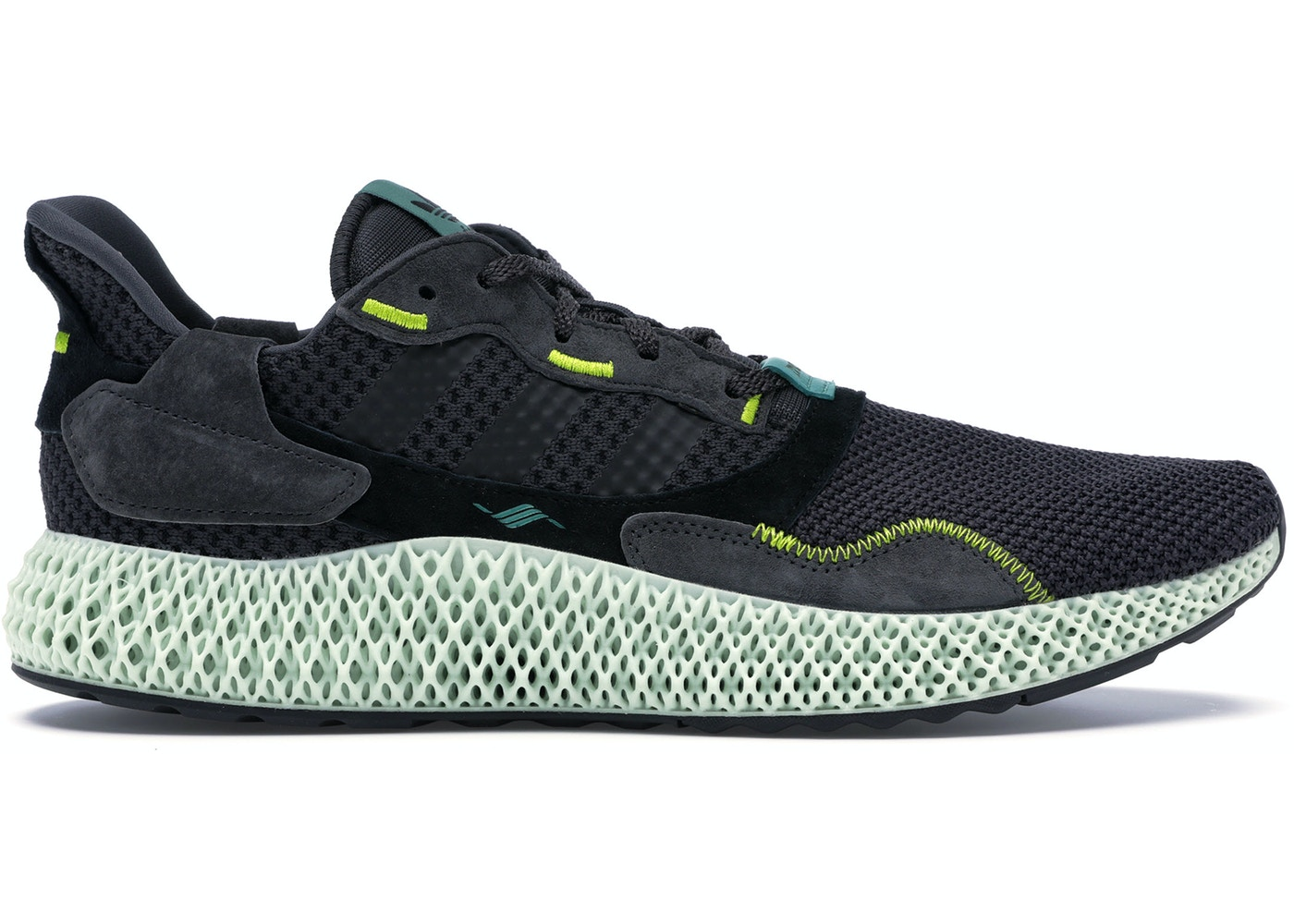 new product ab23b 87d00 adidas ZX 4000 4D Carbon