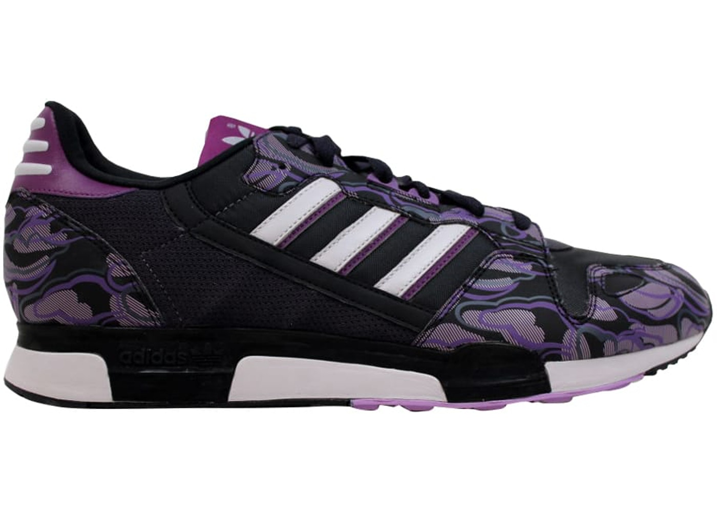 brand new ea603 77fa5 adidas ZX 800 Black Purple-White