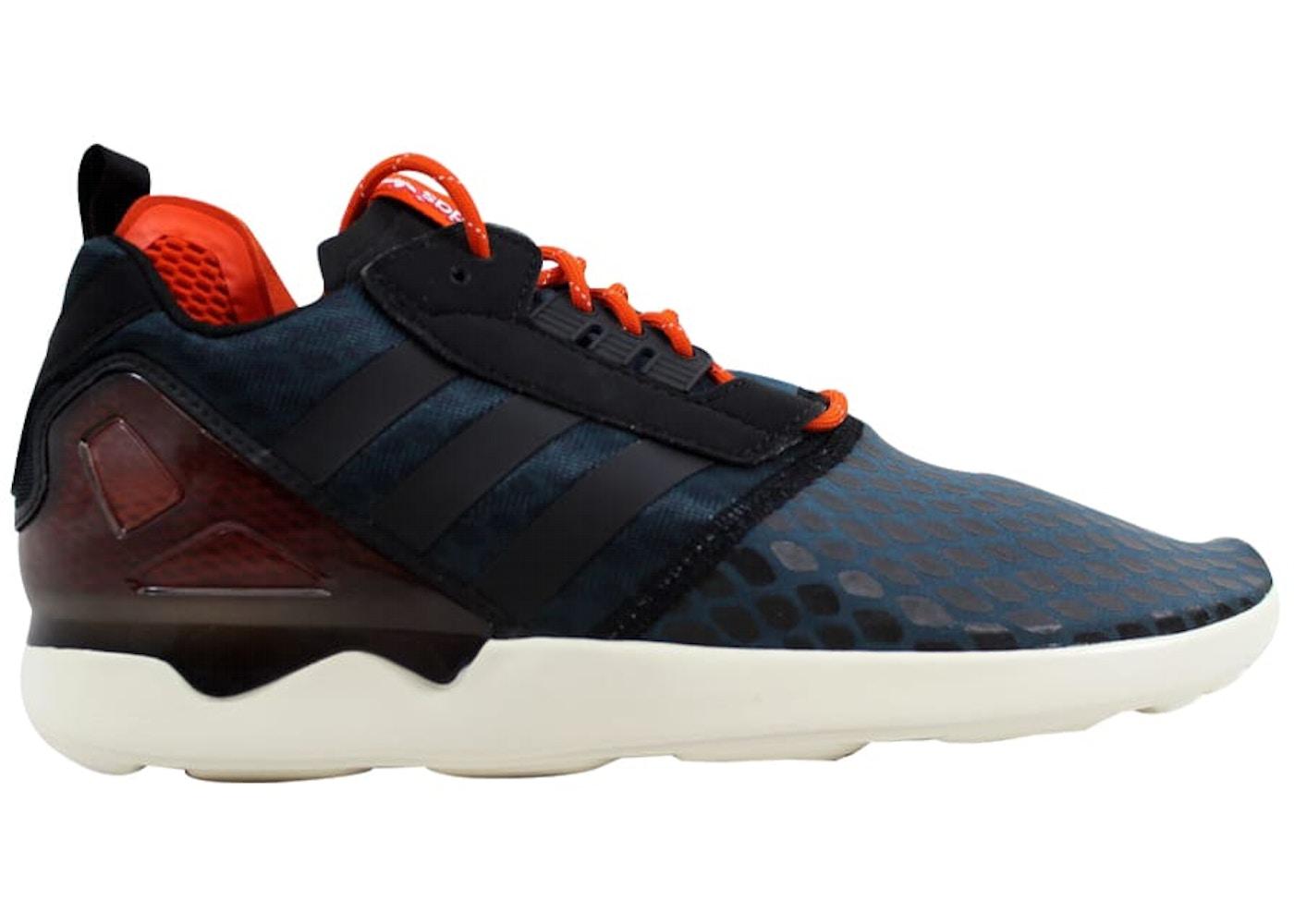 pretty nice 8df66 6c6e5 adidas ZX 8000 Boost Blue Black-Orange