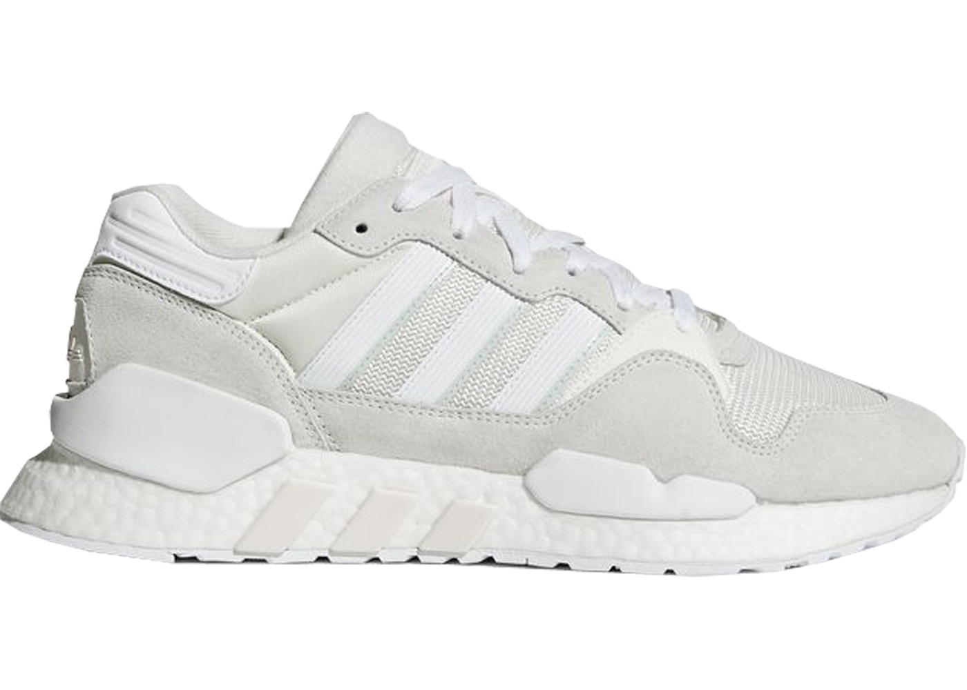 online retailer d12c7 c7269 adidas ZX 930 x EQT Never Made Pack Triple White