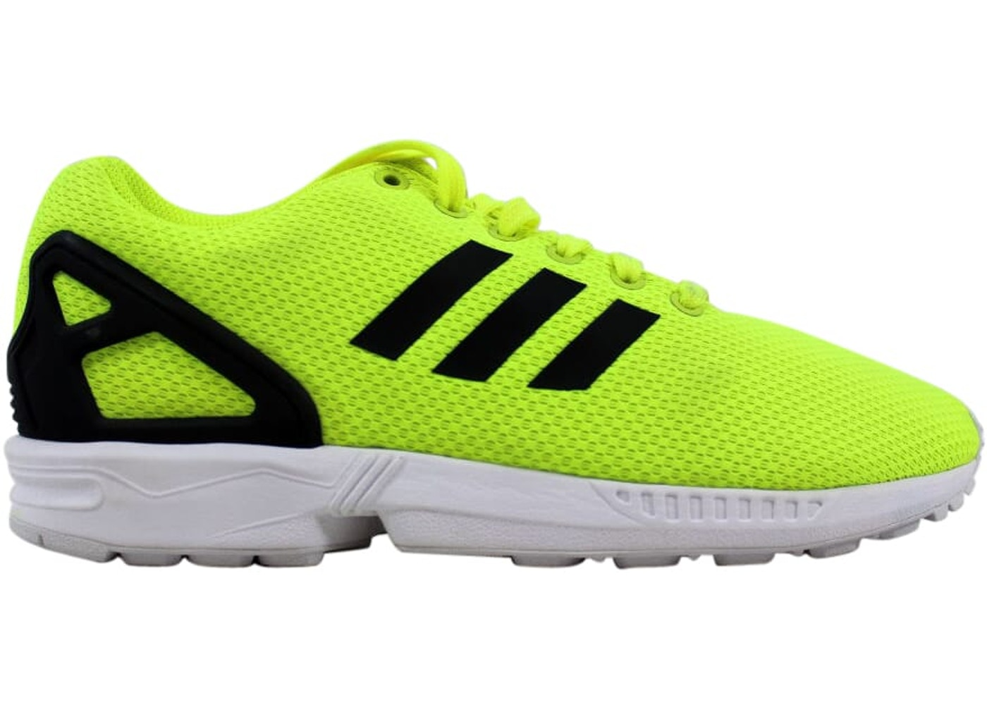quality design a2dc9 92a5b adidas ZX Flux Electric Yellow