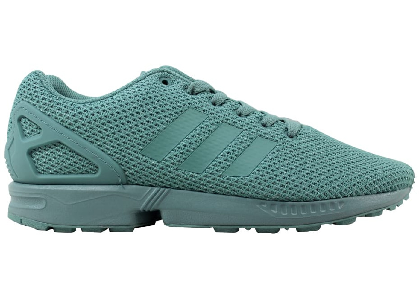 newest a56e1 6f809 adidas ZX Flux Mint Green - BB2762