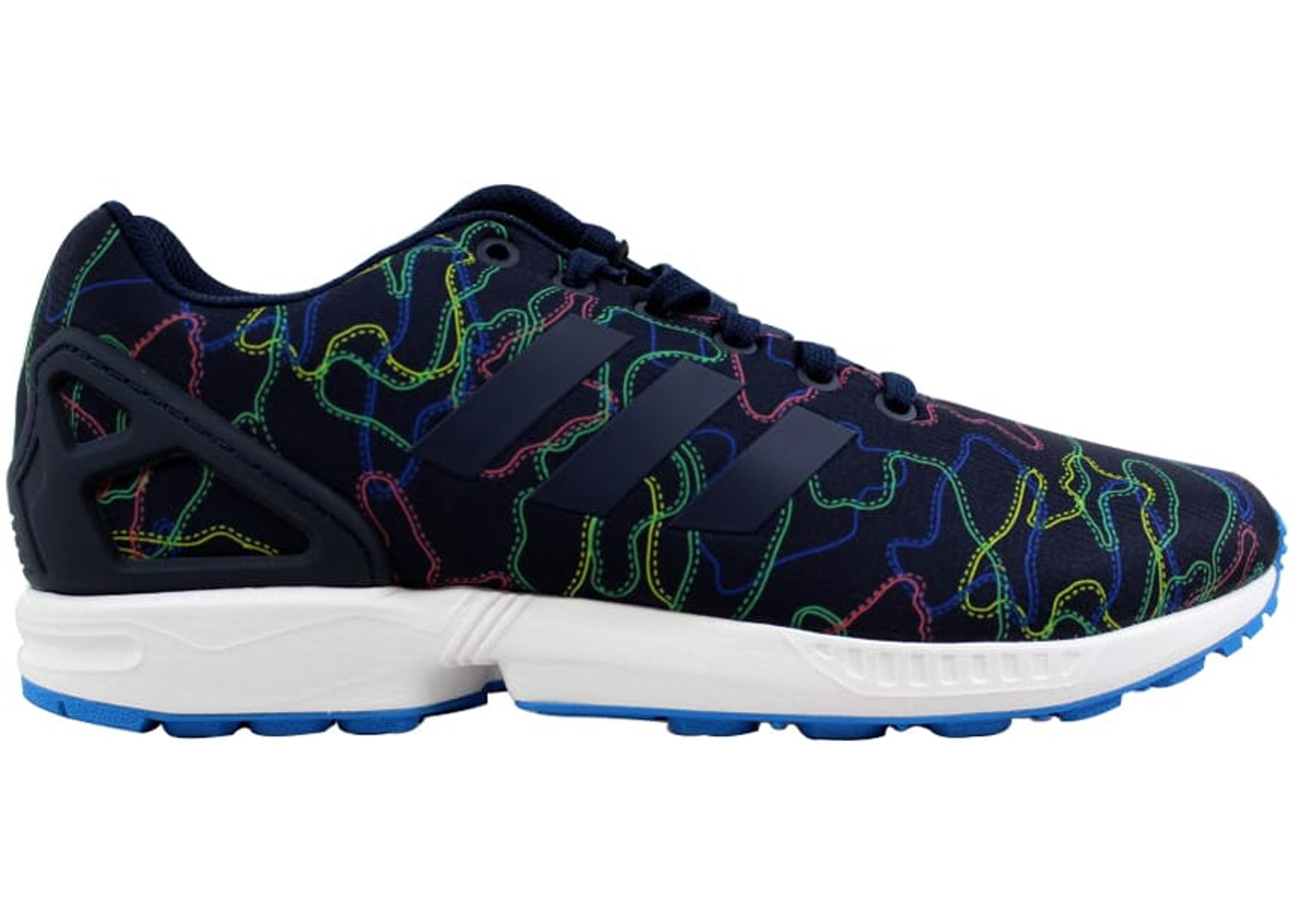 53fdb1a49 Sell. or Ask. Size --. View All Bids. adidas ZX Flux Navy White