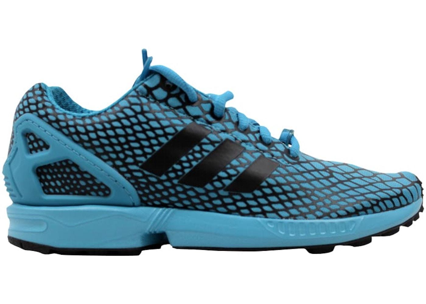 c3255c719301 adidas ZX Flux Techfit Core Black Blanch Sea Blue. Core Black Blanch Sea  Blue
