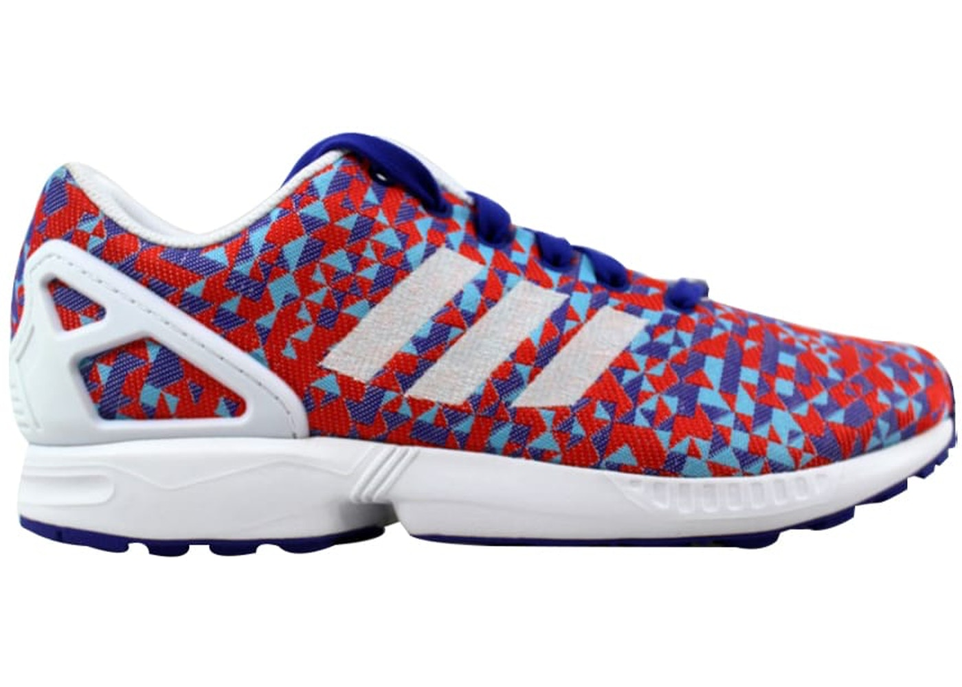 purchase cheap b715c deb37 adidas ZX Flux Weave Night Flash/White-Black