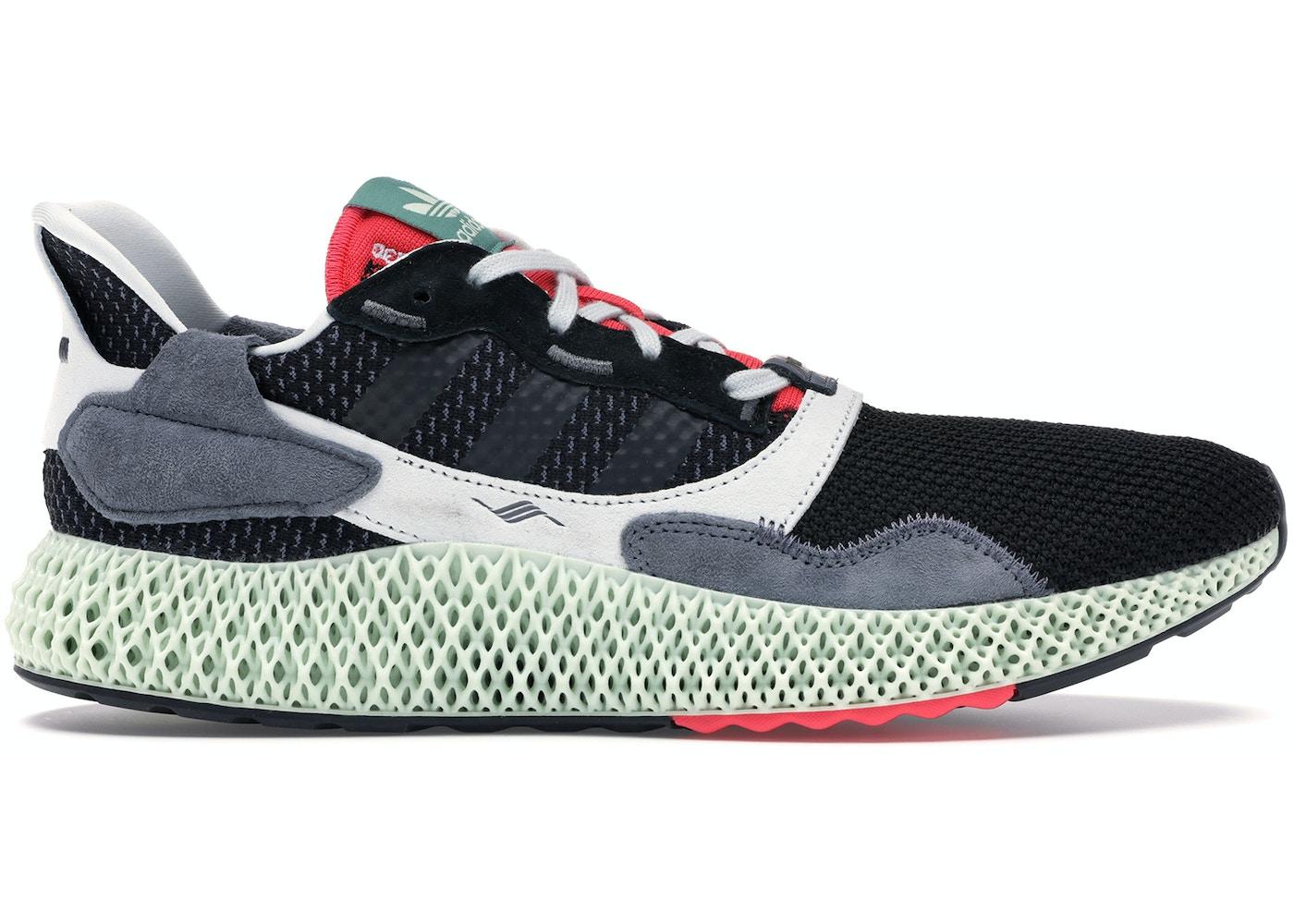 separation shoes a257c e909f adidas ZX4000 4D Black Onix