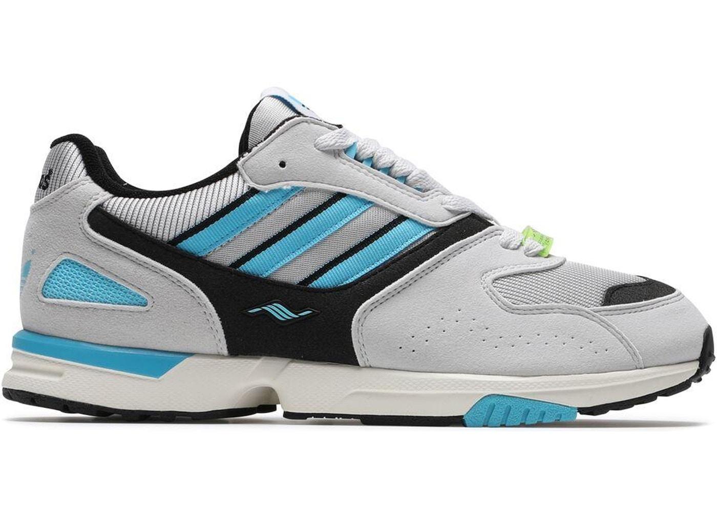 uk availability fe373 1ff4a adidas ZX4000 OG Grey One Bright Cyan