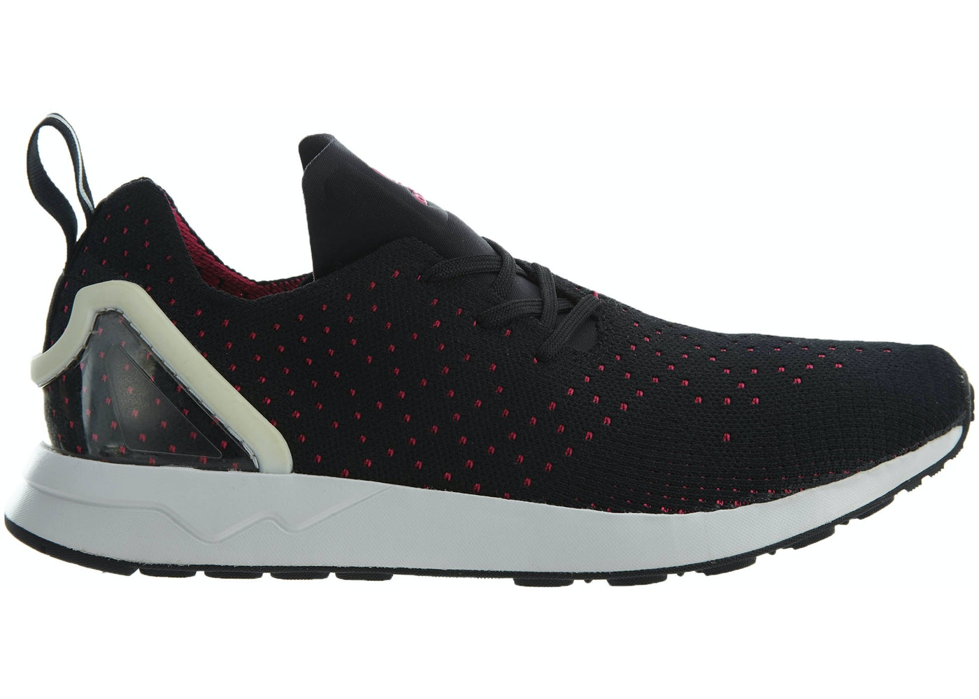 check out 89e3d 62ea1 adidas Zx Flux Adv Asym Pk Black Shock Pink-White
