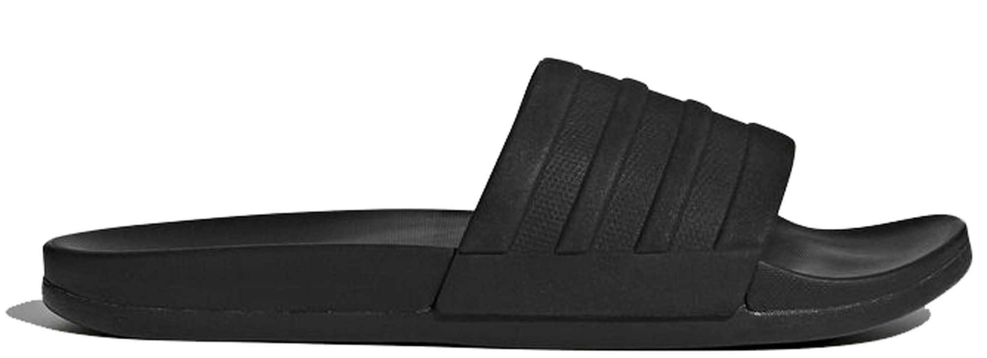 adidas adilette Cloudfoam Plus Triple Black