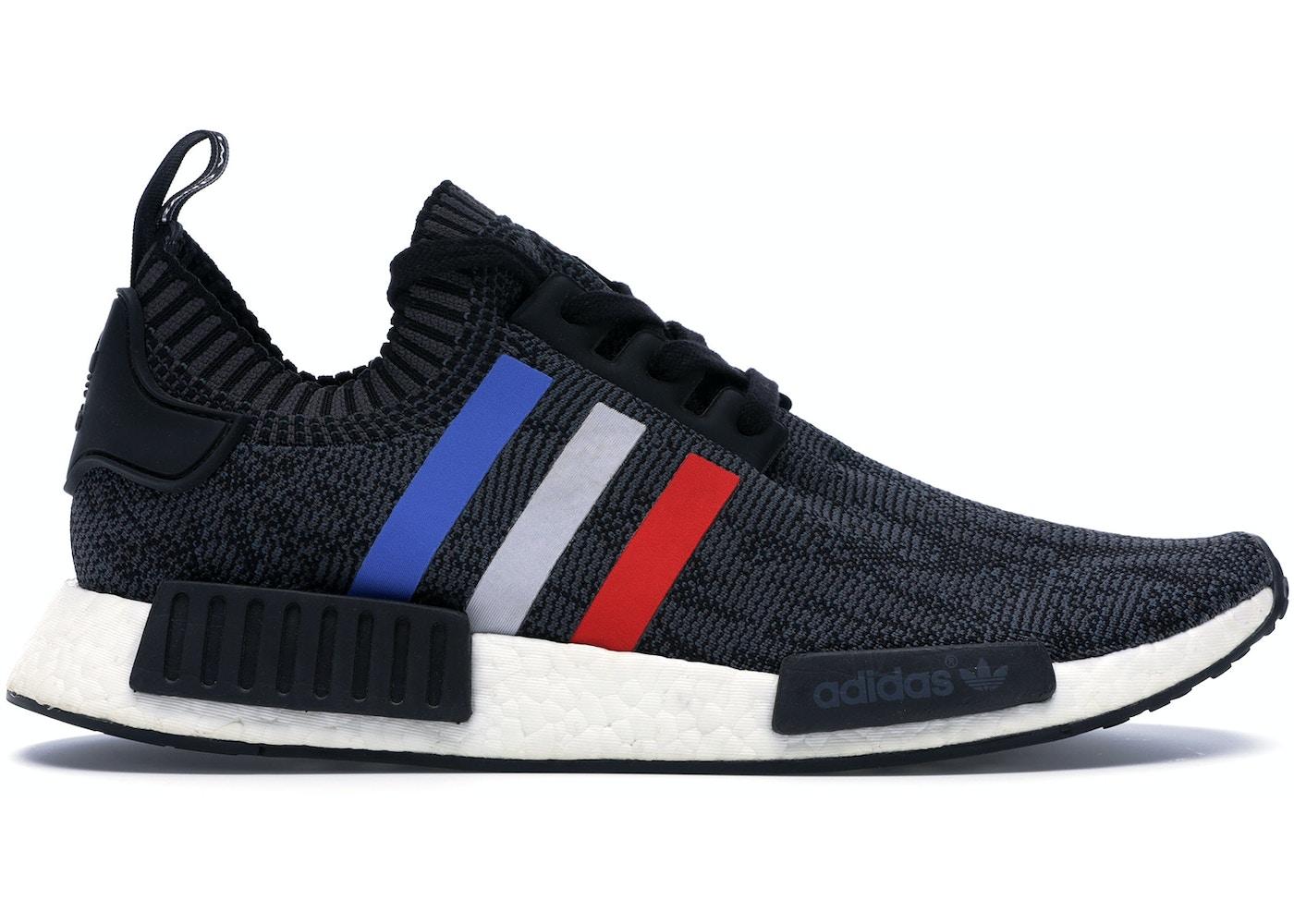 Adidas Nmd R1 Tri Color Stripes Black Bb2887