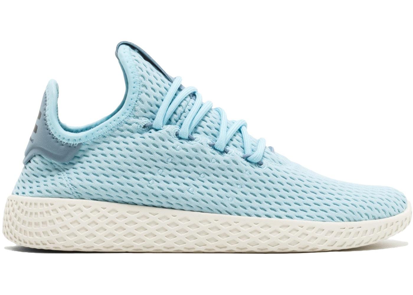 Escéptico Ganar simpático  adidas Tennis Hu x Pharrell Williams Ice Blue (Youth) - CP9802