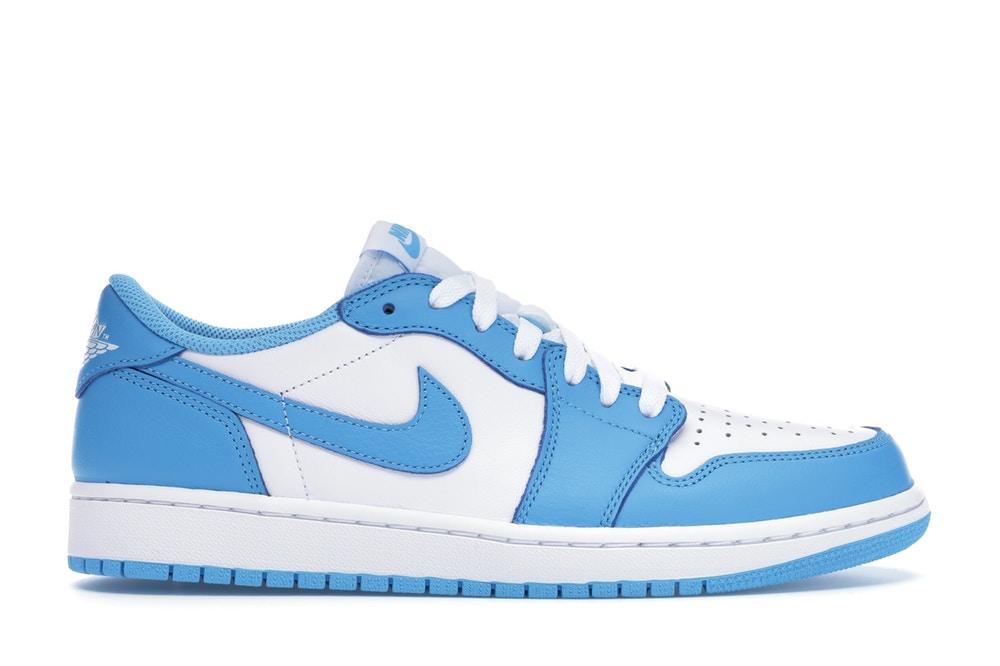 air jordan 1 low bleu