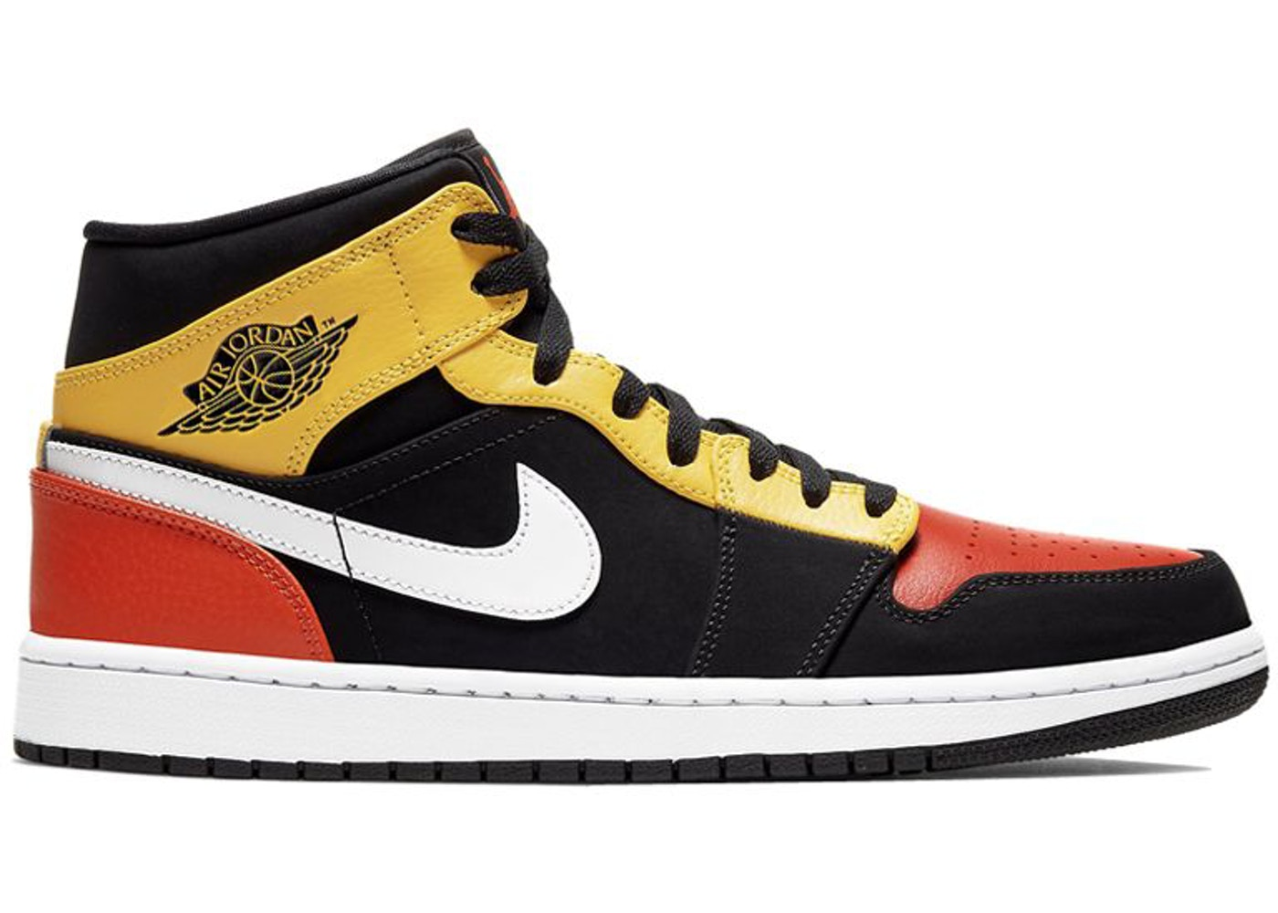 air jordan 1 jaune et orange