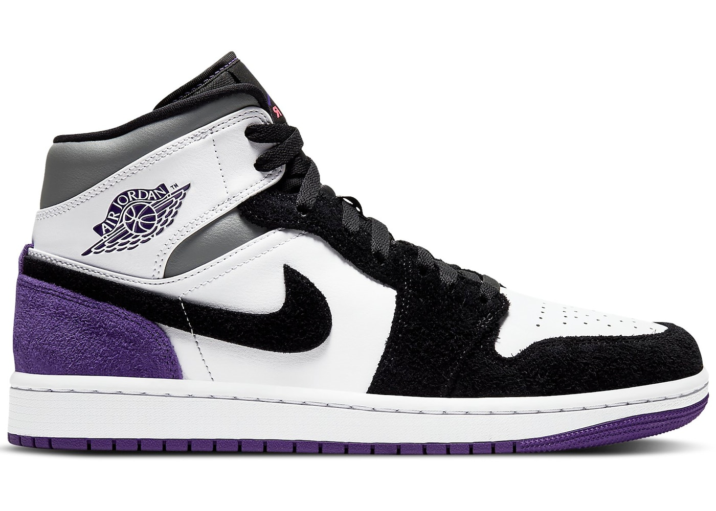 air jordan 1 mid purple