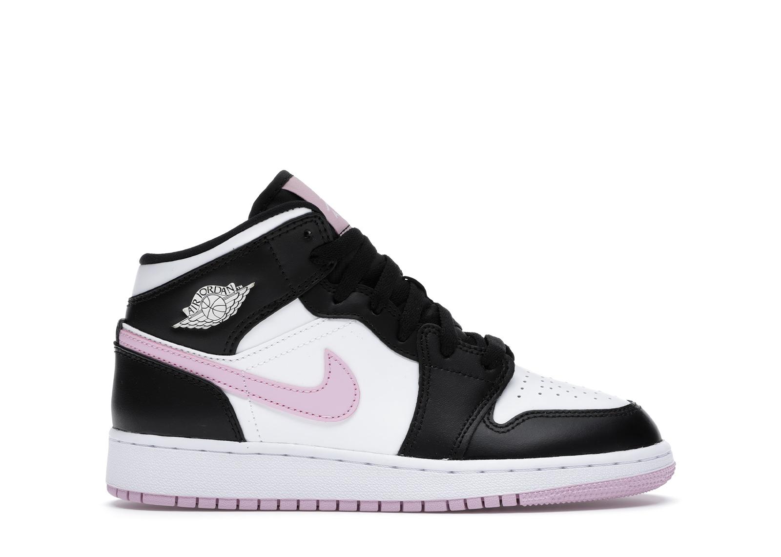 black pink jordan 1