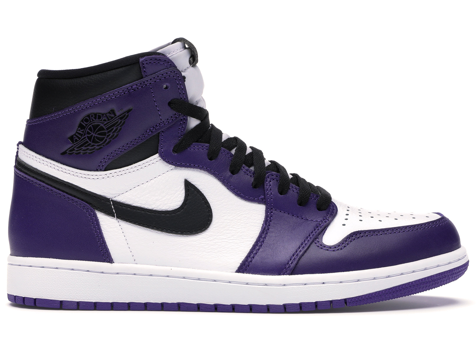 air jordan 1 og court purple