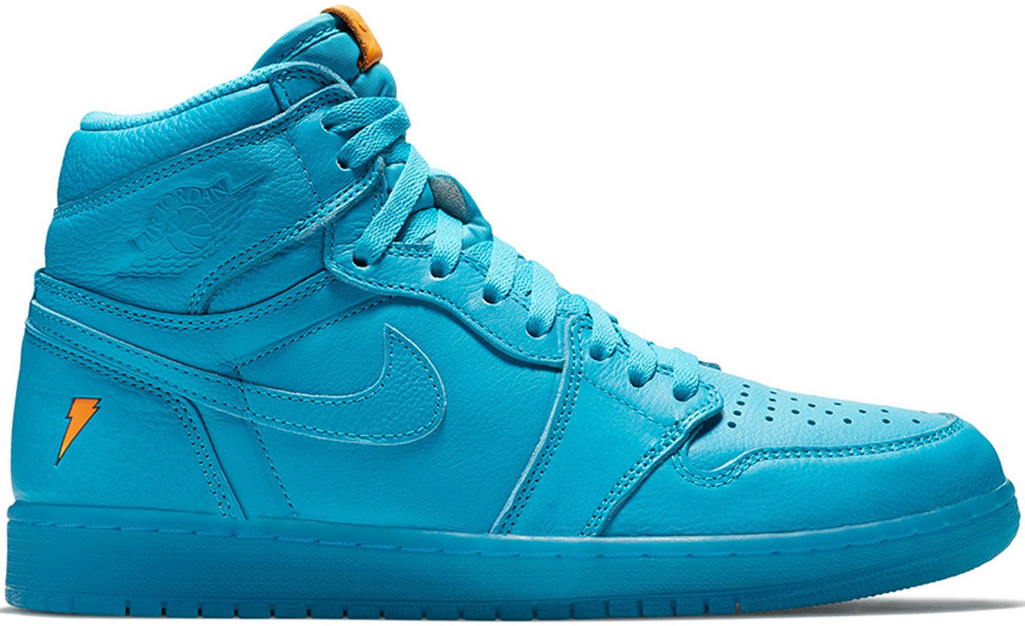 Jordan 1 Retro High Gatorade Blue