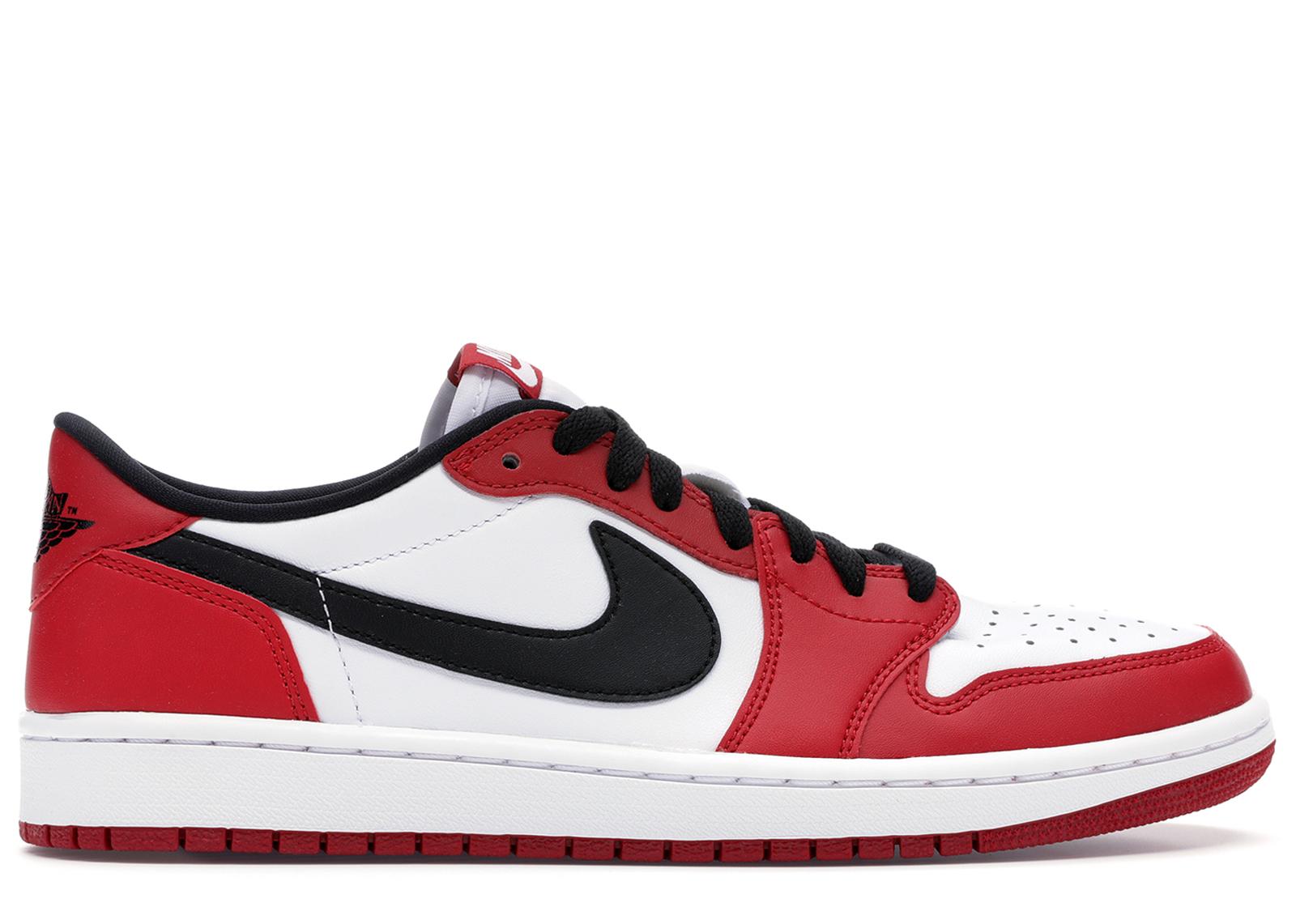 air jordan 1 low rouge et blanc