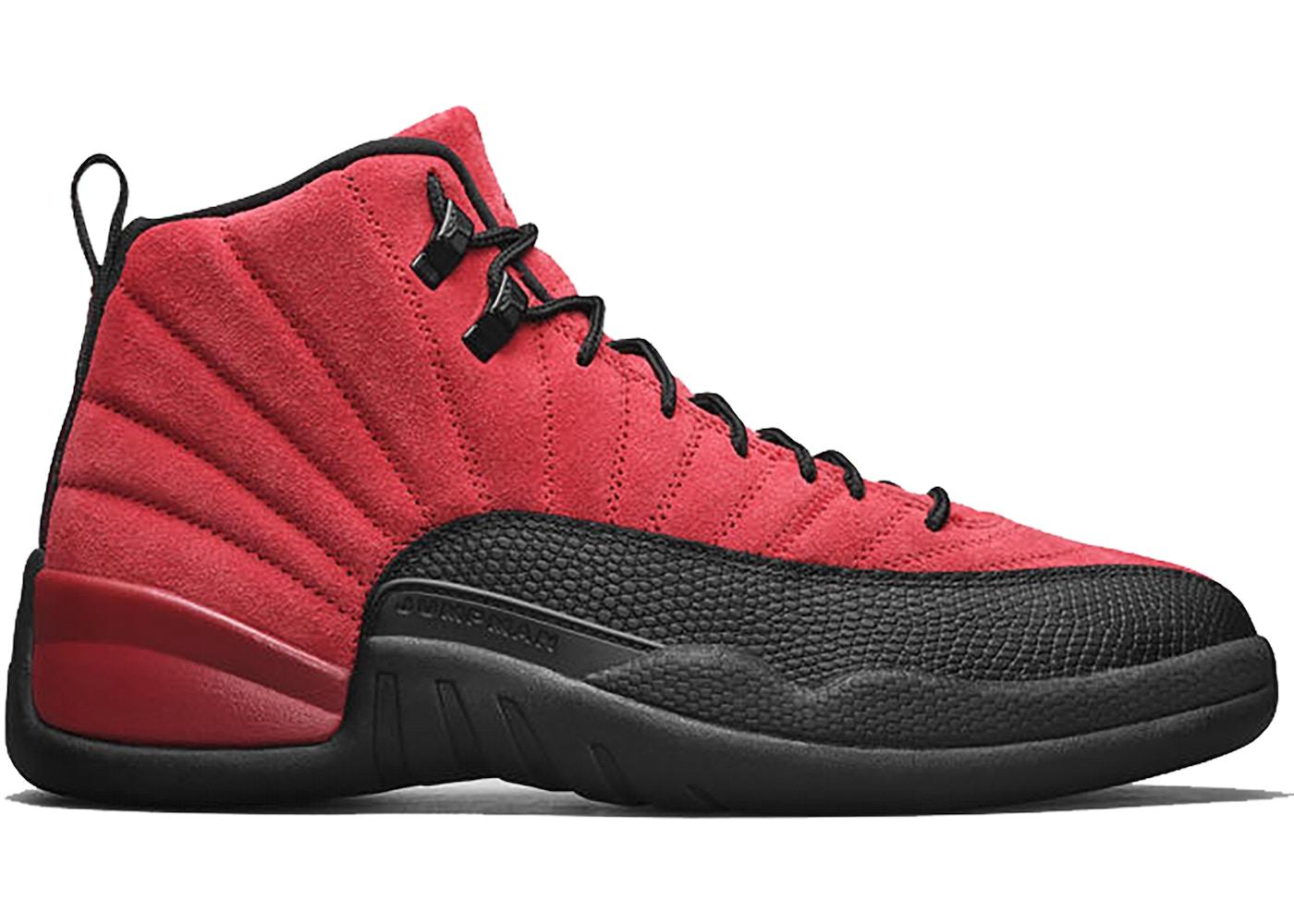Jordan 12 Retro Reverse Flu Game