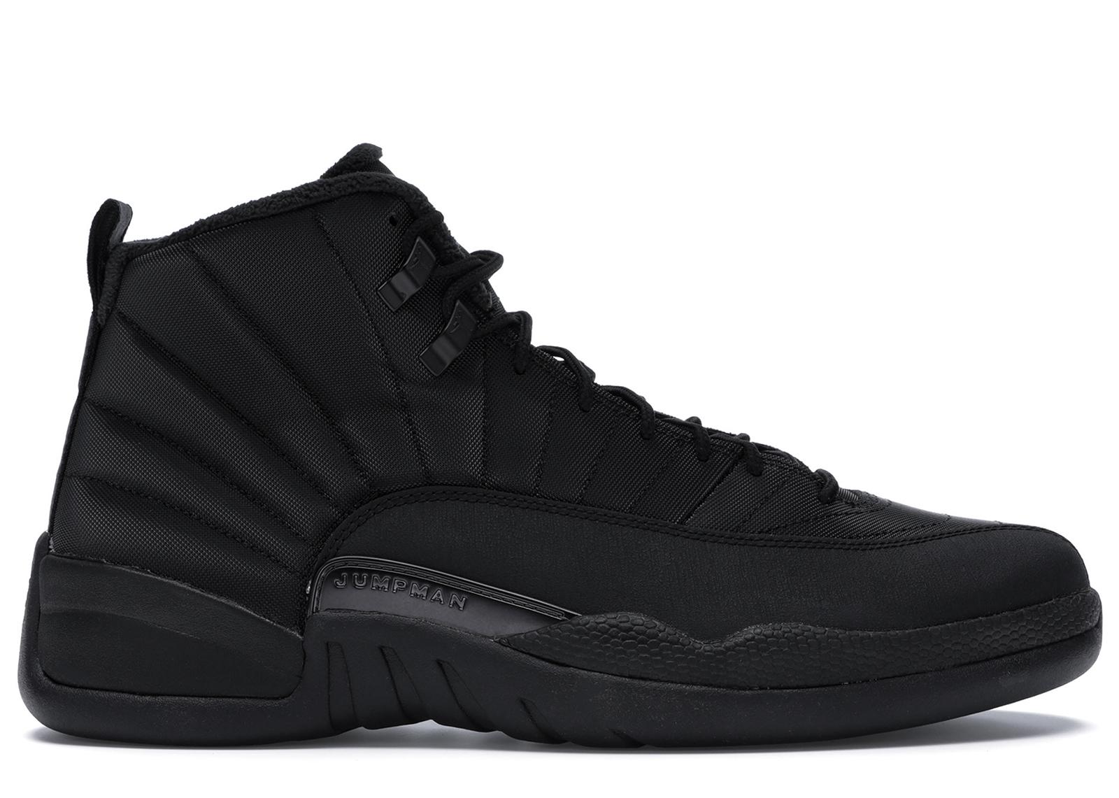 Jordan 12 Retro Winter Black