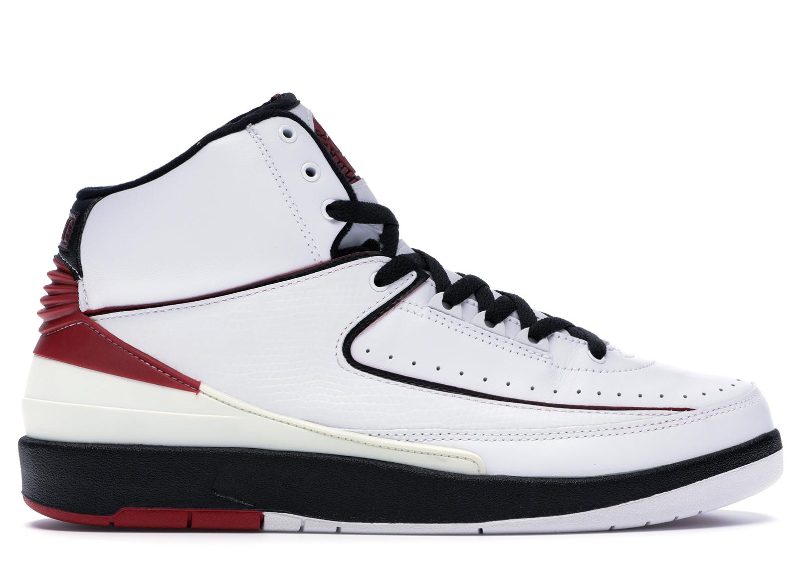 Jordan 2 Retro White Varsity Red (2004