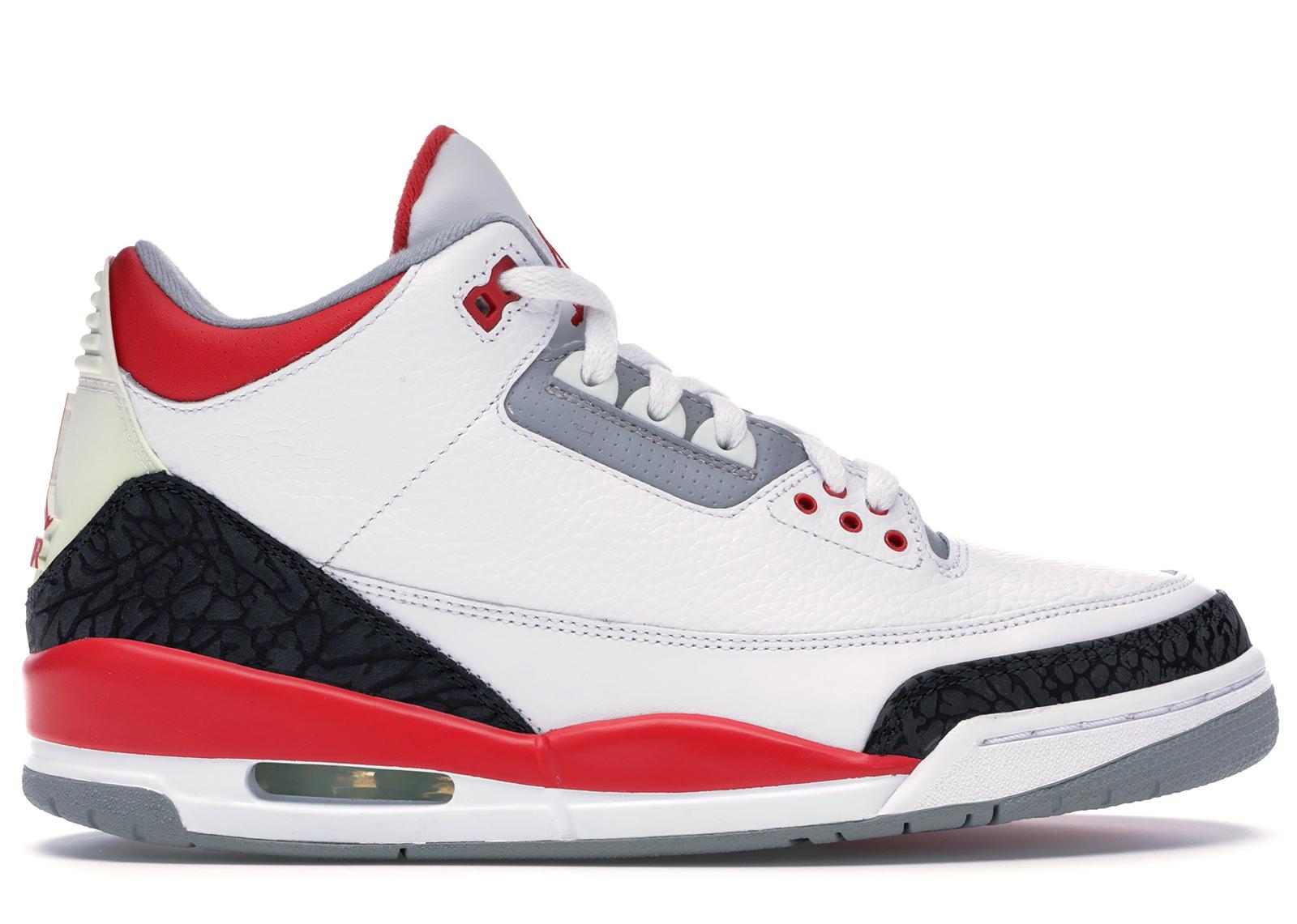 Jordan 3 Retro Fire Red (2007) - 136064-161