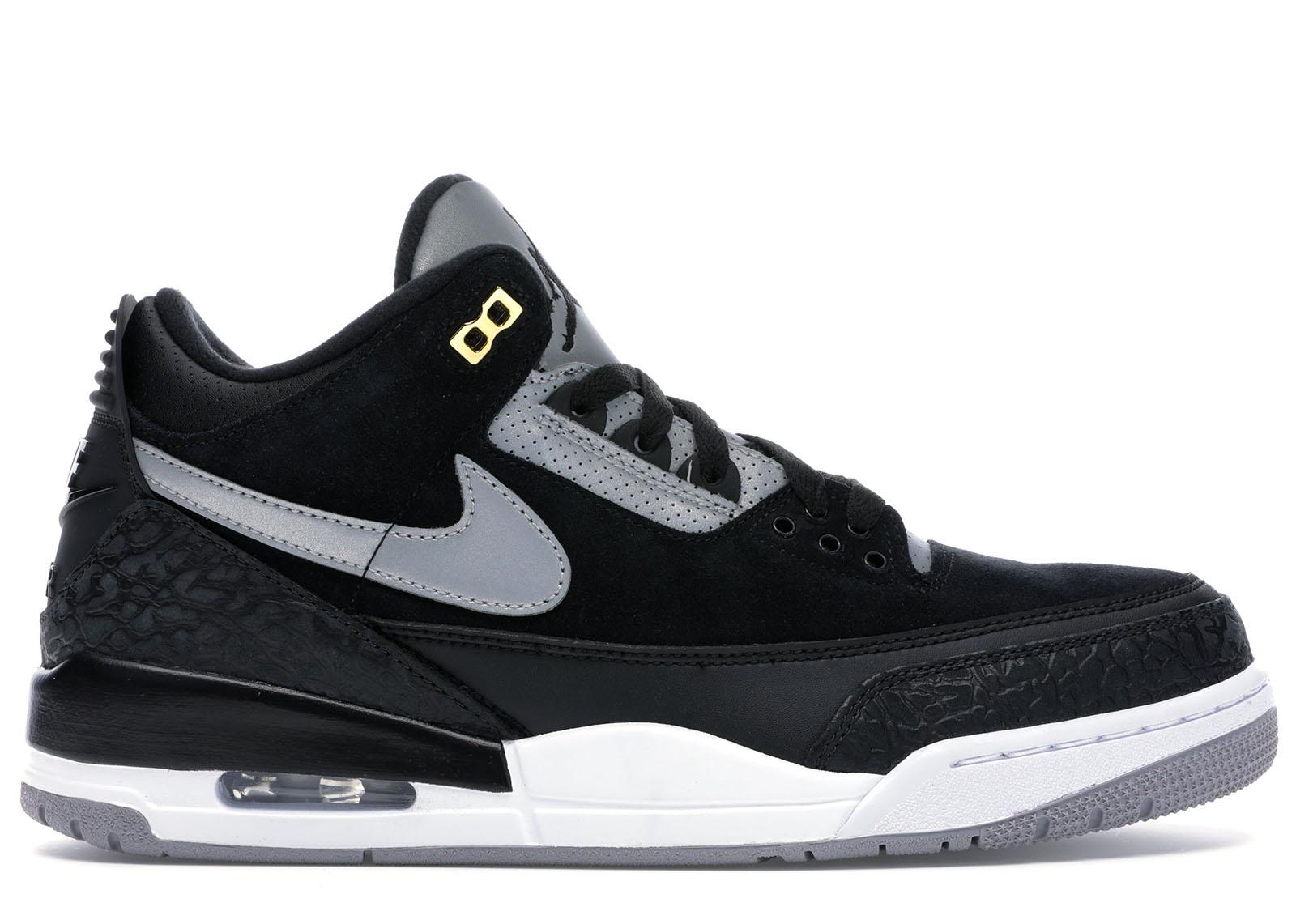 black 3s jordans