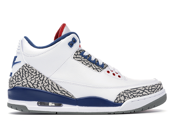 Jordan 3 Retro True Blue (2016