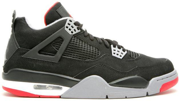 Jordan 4 Retro Black Cement CDP (2008