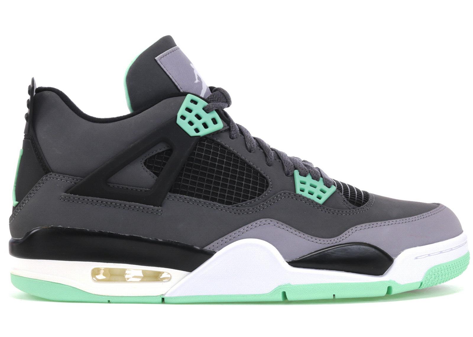 Jordan 4 Retro Green Glow - 308497-033