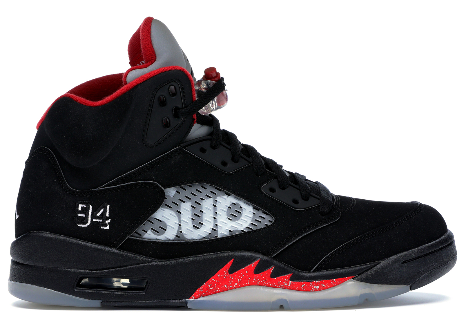 Jordan 5 Retro Supreme Black - 824371-001